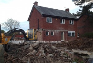 Demolition Started on this Lancashire Remodel